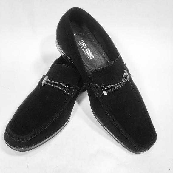 Stacy Adams Black Suede Shoe